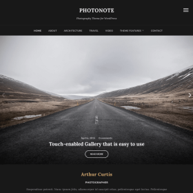 WPZoom Photonote WordPress Theme