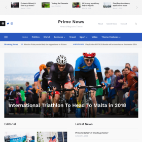 WPZoom Prime News WordPress Theme