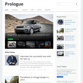 WPZoom Prologue WordPress Theme