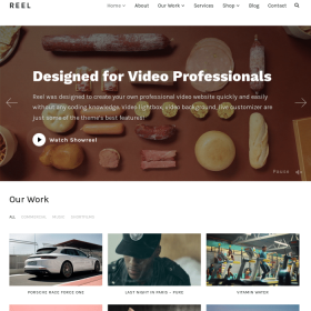 WPZoom Reel WordPress Theme