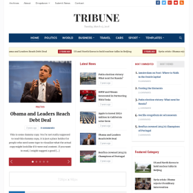 WPZoom Tribune WordPress Theme
