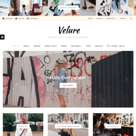 WPZoom Velure Magazine WordPress Theme