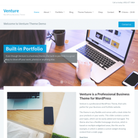 WPZoom Venture WordPress Theme