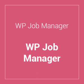 WP Job Manager WordPress Plugin