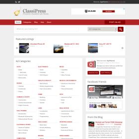 AppThemes ClassiPress – WordPress Classified Ads Theme