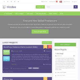 AppThemes HireBee – Freelance WordPress Theme