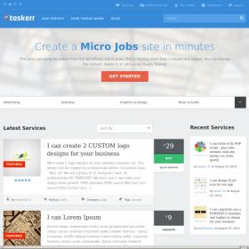 AppThemes Taskerr – Micro Job WordPress Theme