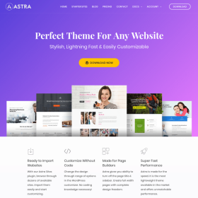 Astra WordPress Theme by Brainstorm Force