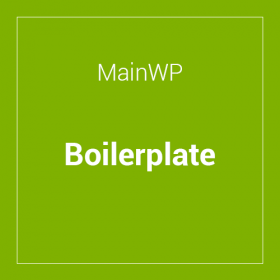 MainWP Boilerplate Extension