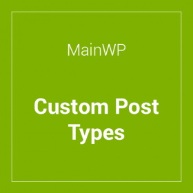 MainWP Custom Post Types Extension