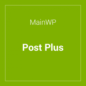 MainWP Post Plus Extension