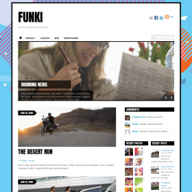 Themify Funki WordPress Theme