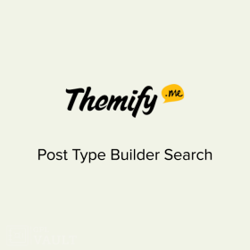 Themify Post Type Builder Search 1.3.3