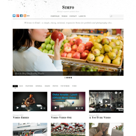 Themify Simfo WordPress Theme 5.3.4
