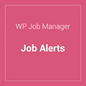 WP Job Manager Job Alerts