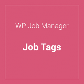 WP Job Manager Job Tags