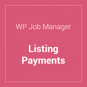 WP Job Manager Listing Payments