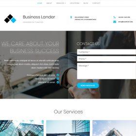 GretaThemes Business Lander WordPress Theme