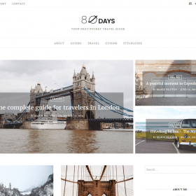 GretaThemes EightyDays WordPress Theme