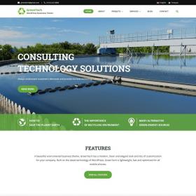 GretaThemes GreenTech WordPress Theme