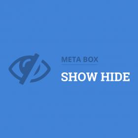 Meta Box Show Hide