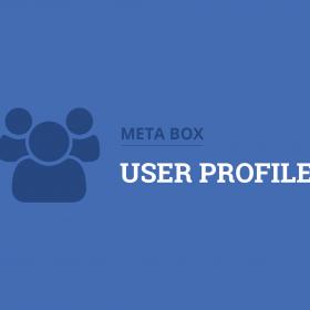 Meta Box User Profile