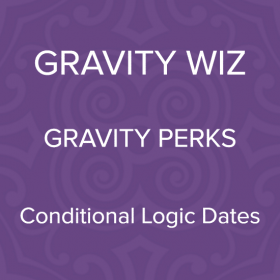 Gravity Perks – Gravity Forms Conditional Logic Dates