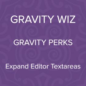 Gravity Perks – Gravity Forms Expand Textareas 1.0.4