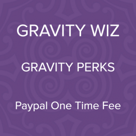 Gravity Perks – Gravity Forms PayPal One-time Fee