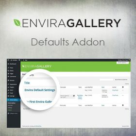Envira Gallery – Defaults Addon 1.4.8