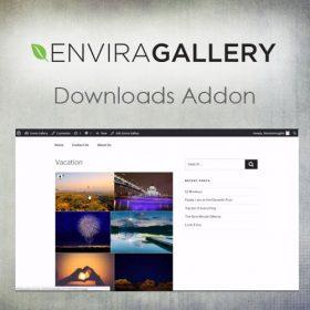 Envira Gallery – Downloads Addon 1.4.9