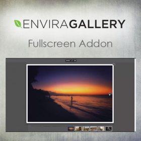 Envira Gallery – Fullscreen Addon