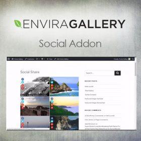 Envira Gallery – Social Addon