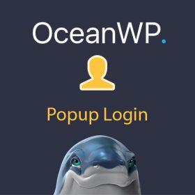 OceanWP Popup Login 1.2.0