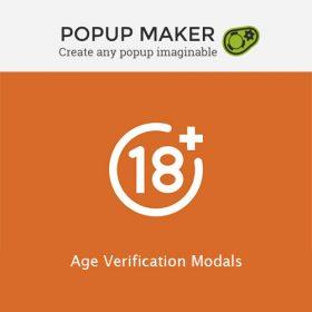Popup Maker – Age Verification Modals