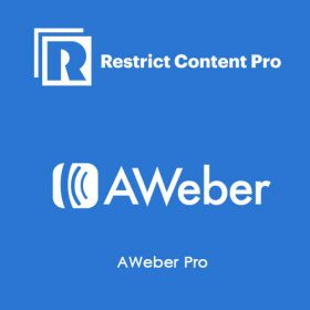 Restrict Content Pro AWeber Pro
