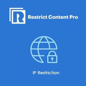 Restrict Content Pro IP Restriction 1.2.8