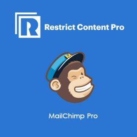 Restrict Content Pro MailChimp Pro 1.5.3