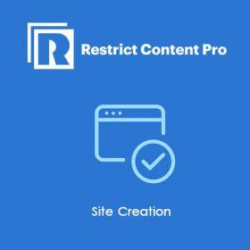 Restrict Content Pro Site Creation 1.3.2