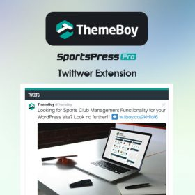 SportsPress Twitter Extension
