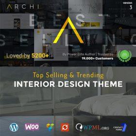 Archi – Interior Design WordPress Theme