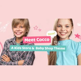 Cocco – Kids Store and Baby Shop Theme