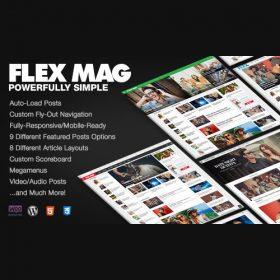Flex Mag – Responsive WordPress News Theme