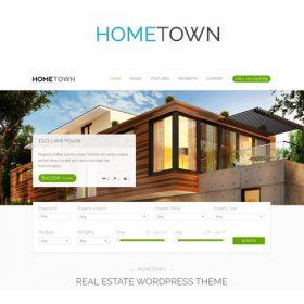 Hometown – Real Estate WordPress Theme