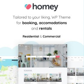Homey – Booking and Rentals WordPress Theme
