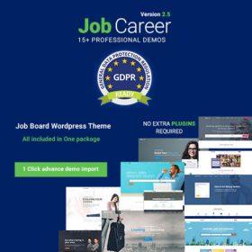 JobCareer   Job Board Responsive WordPress Theme