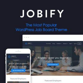 Jobify – The Most Popular WordPress Job Board Theme