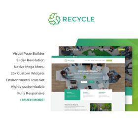 Recycle – Environmental & Green Business WordPress Theme