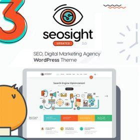 Seosight – SEO, Digital Marketing Agency WP Theme with Shop