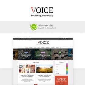 Voice – Clean News/Magazine WordPress Theme
